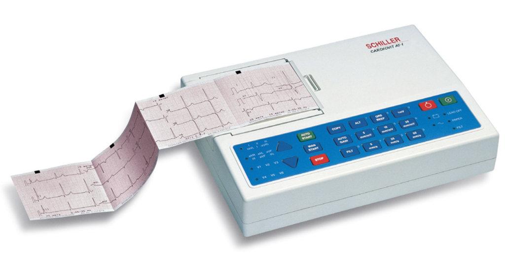 Электрокардиографы: Электрокардиограф Schiller Cardiovit AT-1 в Техномед, ООО