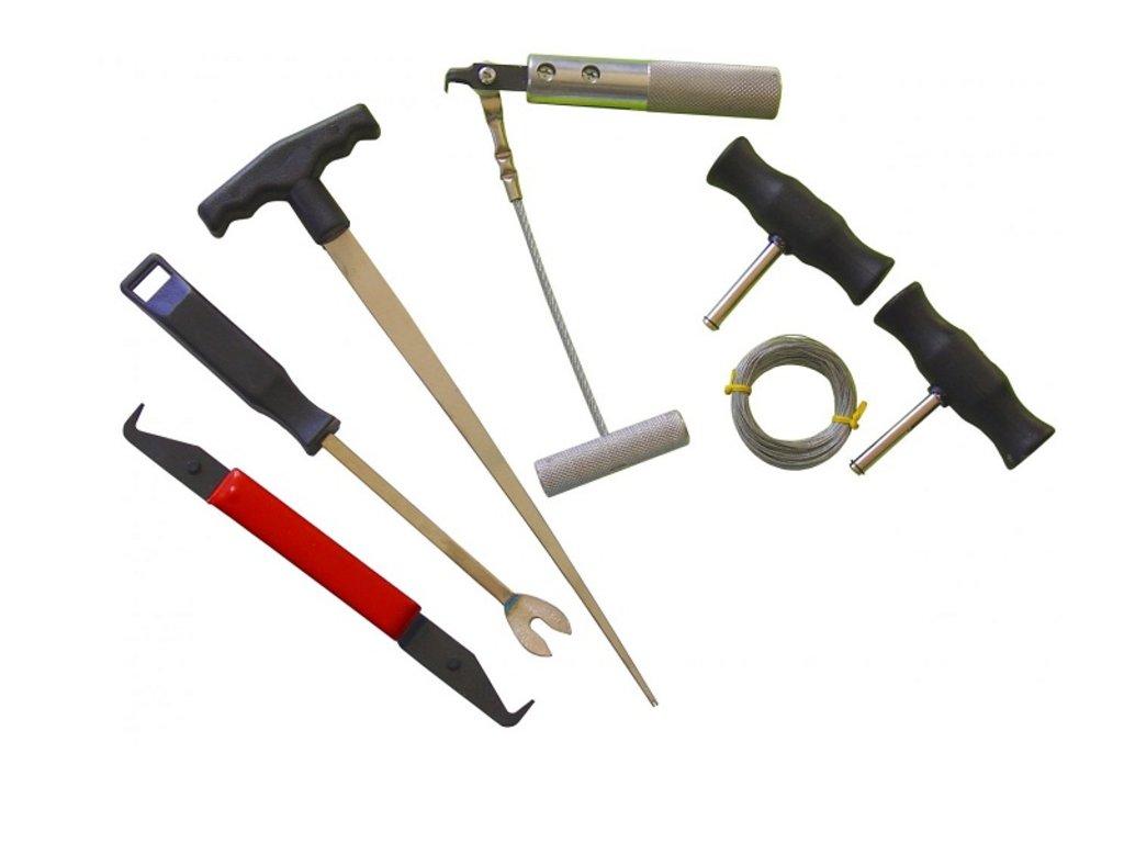 Инструмент для ремонта и диагностики деталей кузова и салона автомобилей: KA-6032 набор для снятия стекол (6 пред) в Арсенал, магазин, ИП Соколов В.Л.