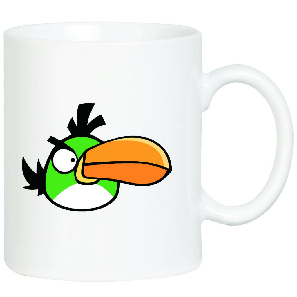 """Выбери готовый дизайн для любой кружки-заготовки: Кружка """"Angry Birds"""" в NeoPlastic"""