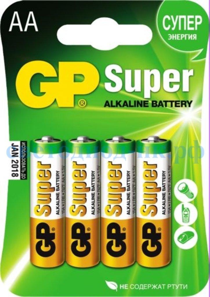 Батарейки: Элемент питания GP LR6 SUPER ALKALINE в СВЕТОВОД