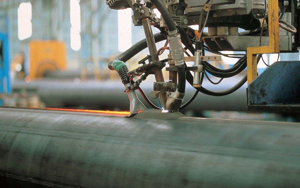 Обработка металла: Сварка под флюсом в ЖБИ и К