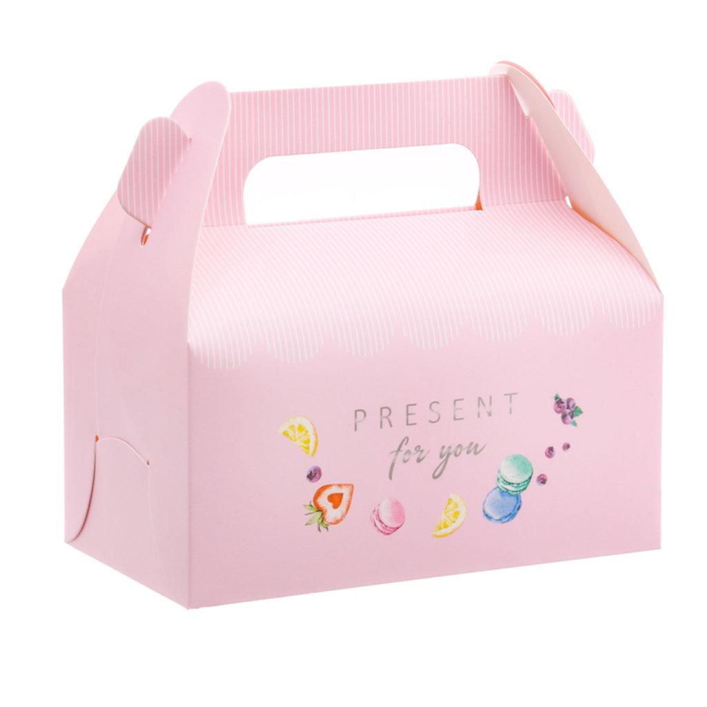 Коробки для кондитерских изделий: Сундук для сладостей Present for you, 16 × 15 × 9 см. в ТортExpress