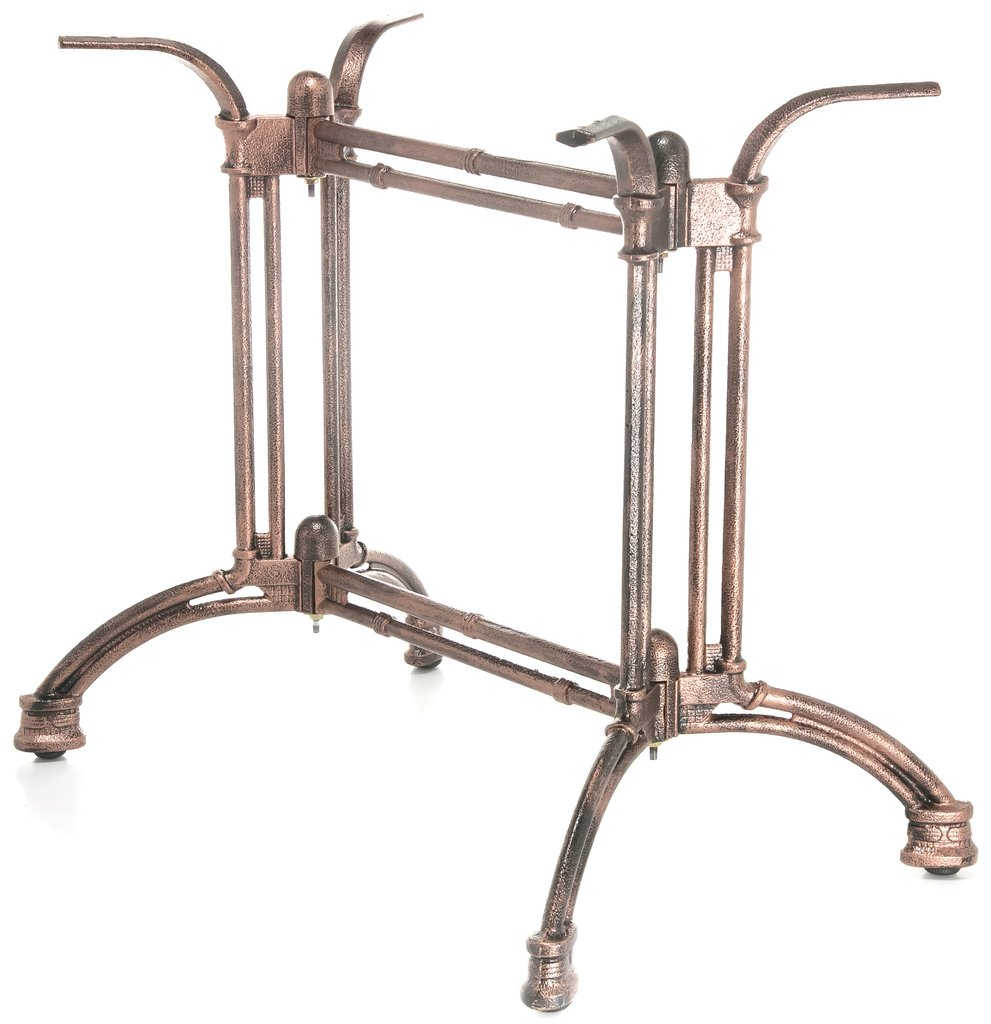 Подстолья для столов.: Подстолье 1281ЕМ (чугун) имитация под бронзу в АРТ-МЕБЕЛЬ НН
