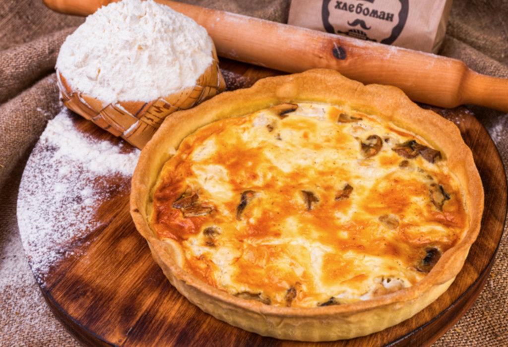 Киш Лорен: Киш с мясным фаршем в Хлебоман
