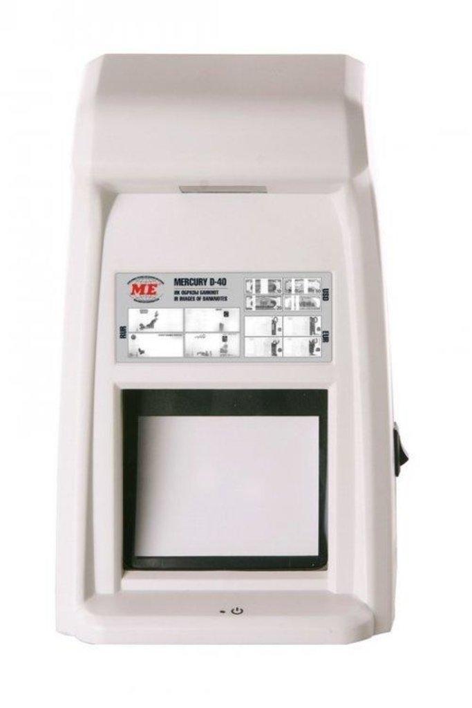 Детекторы банкнот: Mercury D-40 SAMURAI в Рост-Касс