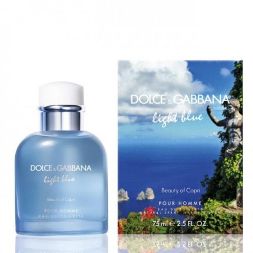 Dolce&Gabbana: D&G Light Blue Pour Homme Beauty of Capri edt м 40 | 75 ml в Элит-парфюм