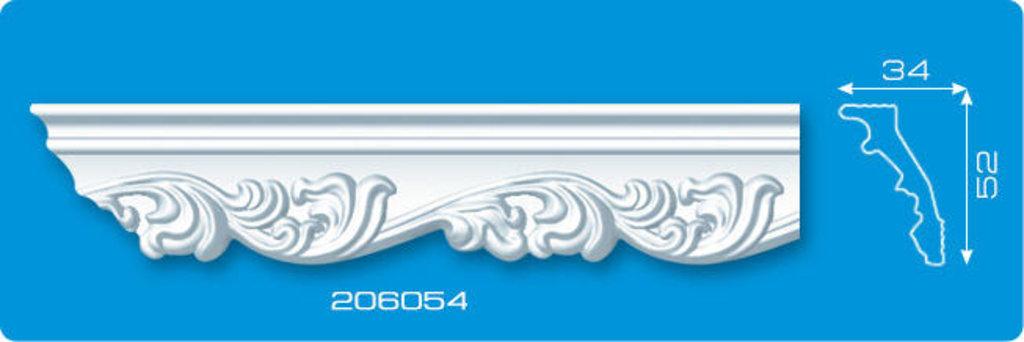 Плинтуса потолочные: Плинтус потолочный ФОРМАТ 206054 инжекционный длина 2м в Мир Потолков