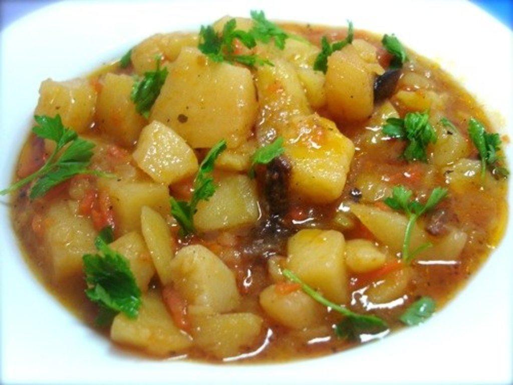 Среда: Картофель тушеный с мясом 280гр в Смак-нк.рф
