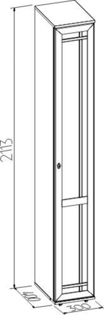 Шкафы для прихожих: Шкаф для обуви правый Sherlock 73 в Стильная мебель