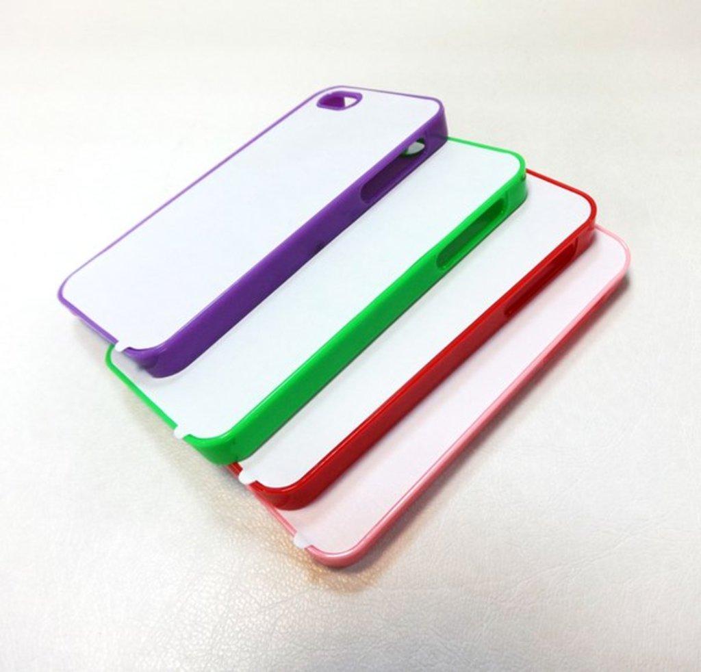 Apple: Чехол для IPhone 5 и 5s Пластиковый цветной в NeoPlastic