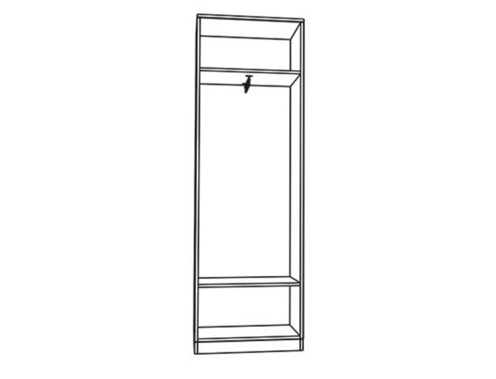 Шкафы для прихожих: Шкаф Лаура в Стильная мебель