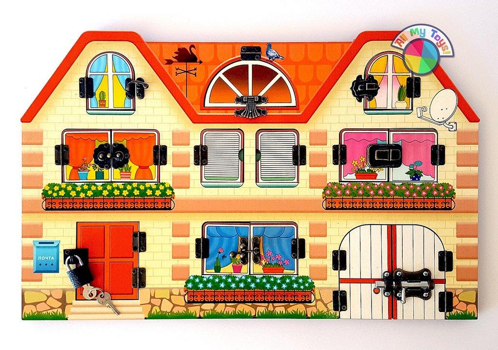 Игрушки для малышей: Дом, в котором мы живем BusyBoard в Игрушки Сити