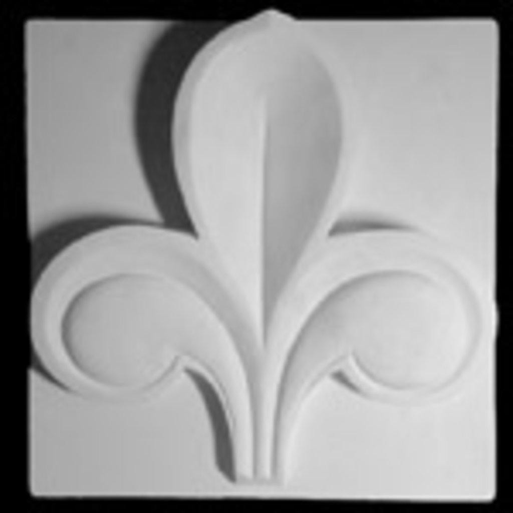Гипсы: Орнамент,трилистник в Шедевр, художественный салон