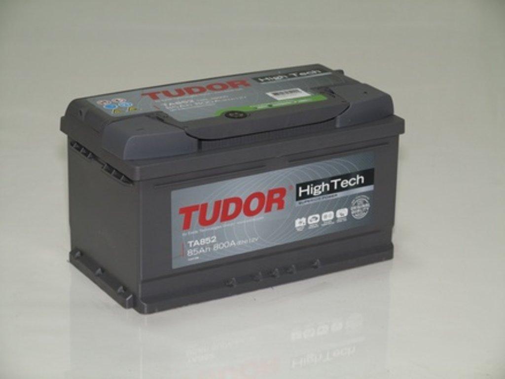 Аккумуляторы автомобильные: TUDOR HIGH - TECH 85 А/Ч L в Мир аккумуляторов