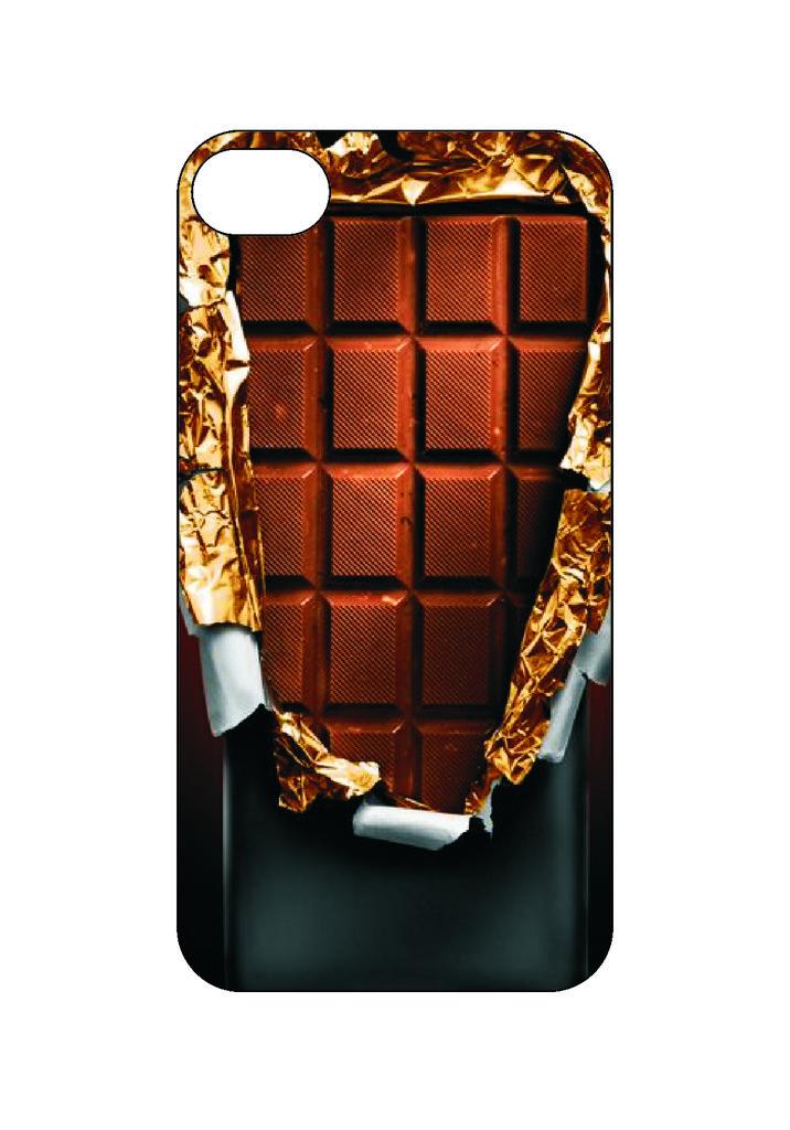 Выбери готовый дизайн для своей модели телефона: Шоколад в NeoPlastic