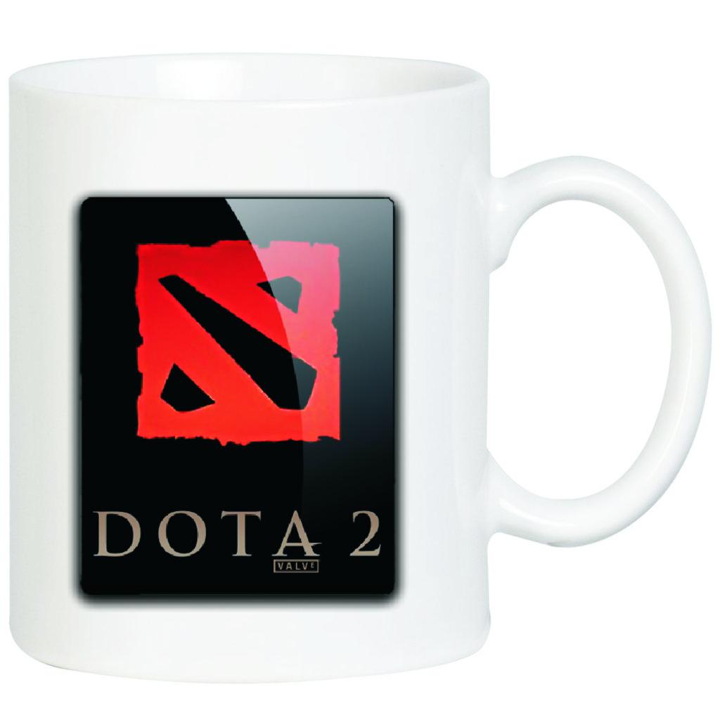 """Выбери готовый дизайн для любой кружки-заготовки: Кружка """"DOTA2"""" в NeoPlastic"""