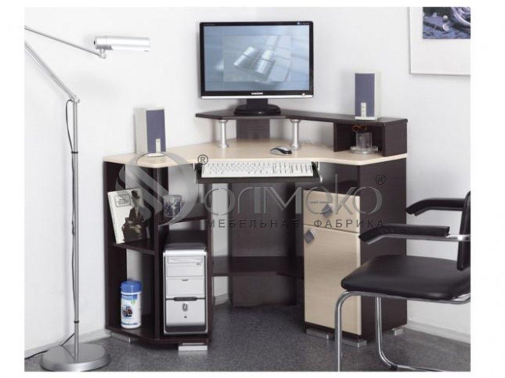 Компьютерные столы: Компьютерный стол Костер - 7 в Стильная мебель