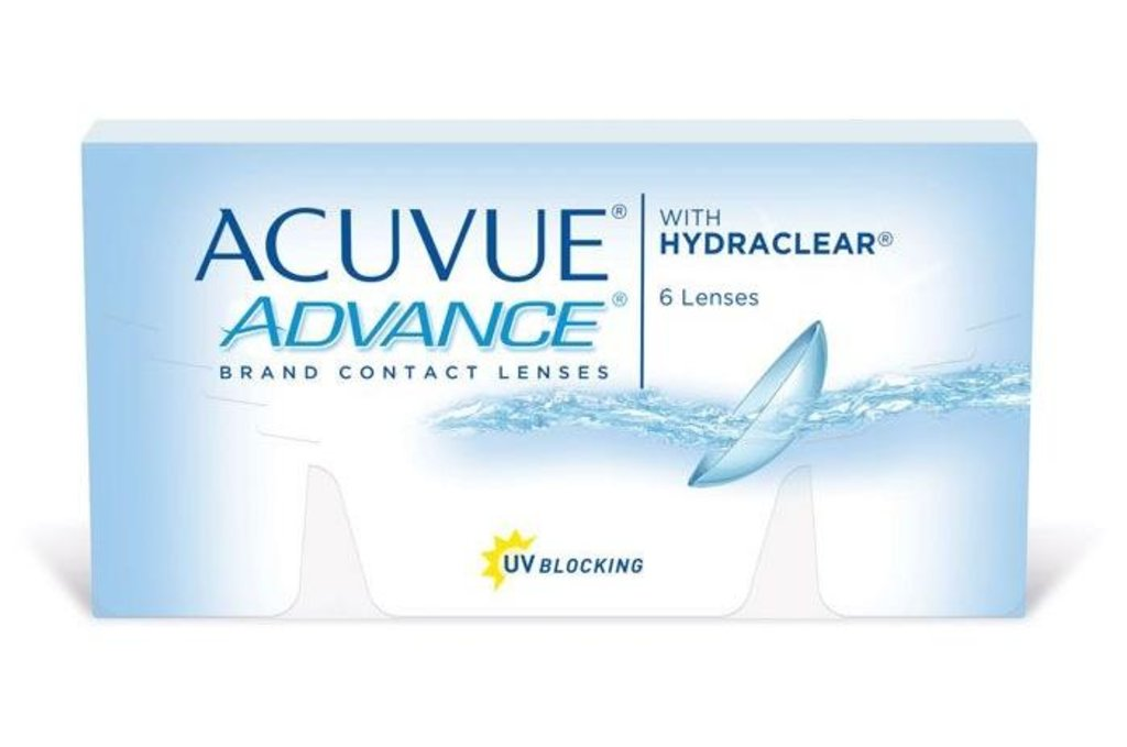 Контактные линзы: Контактные линзы Acuvue Advance (6шт / 8.3) Johnson & Johnson в Лорнет