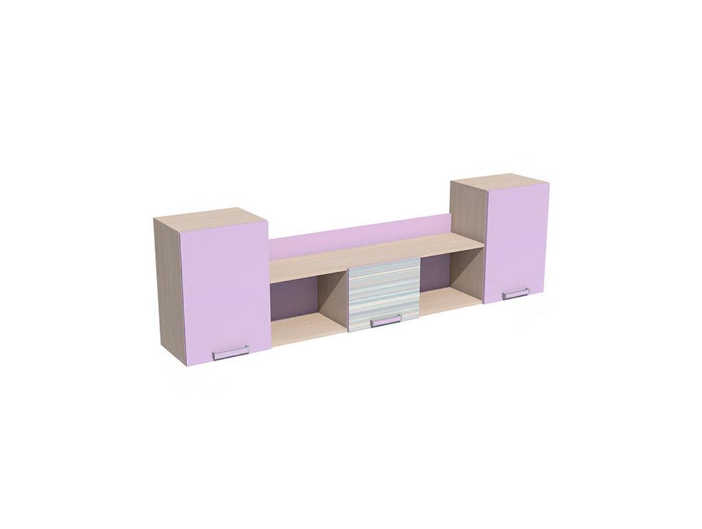 Полки детские: Полка НМ 011.39-01 М Рико-М в Стильная мебель