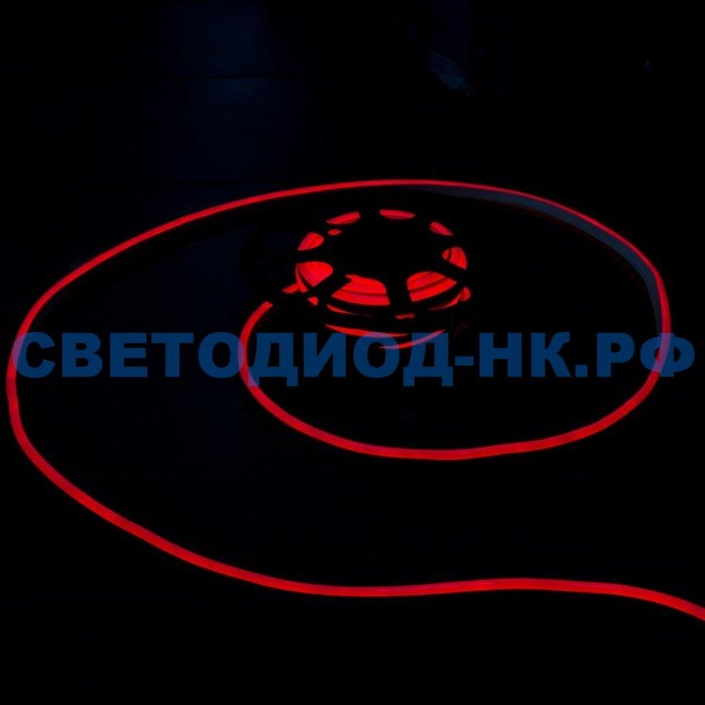 НЕОН 220В: Неон 220В BVD FN-2835-120-1120-220V-10m-R (red) (10 метров) в СВЕТОВОД