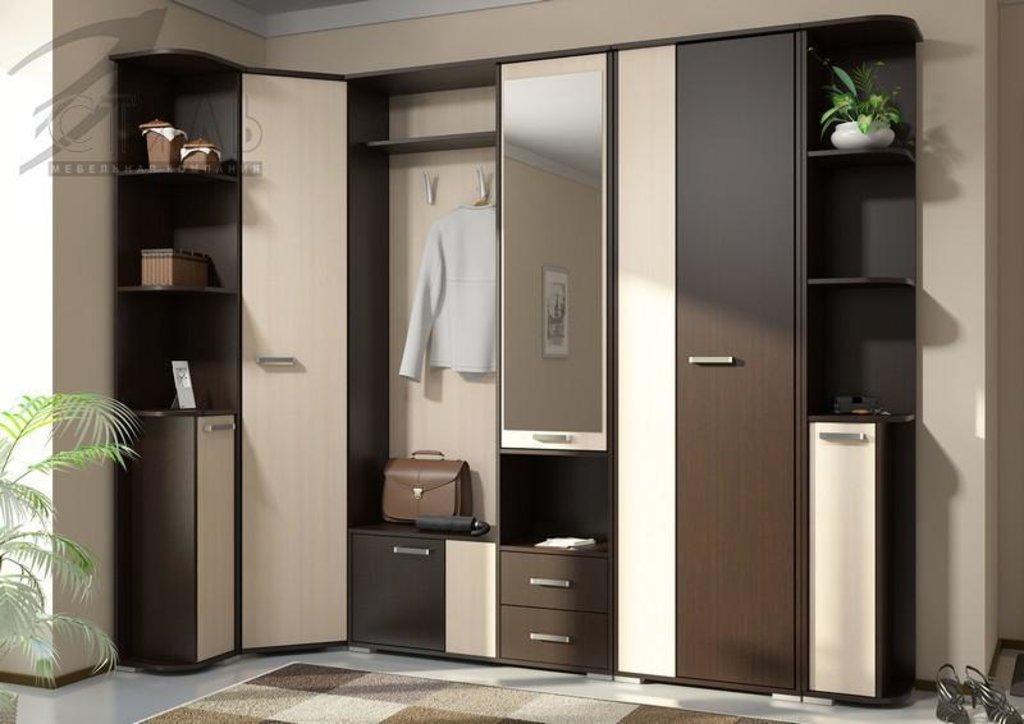 Мебель для прихожей Домино (А): Торцевая секция (универсальная сборка) Домино (А) в Диван Плюс