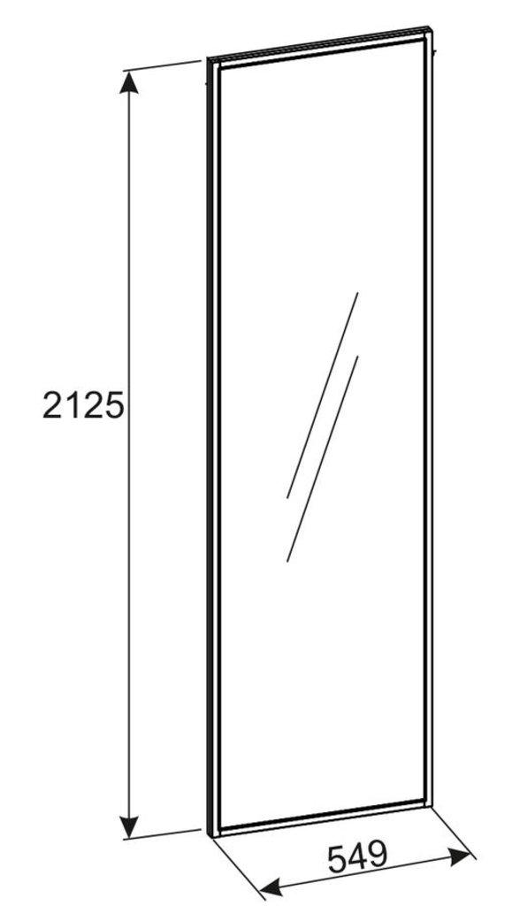 Зеркала, общее: Зеркало навесное Норвуд 75 в Стильная мебель