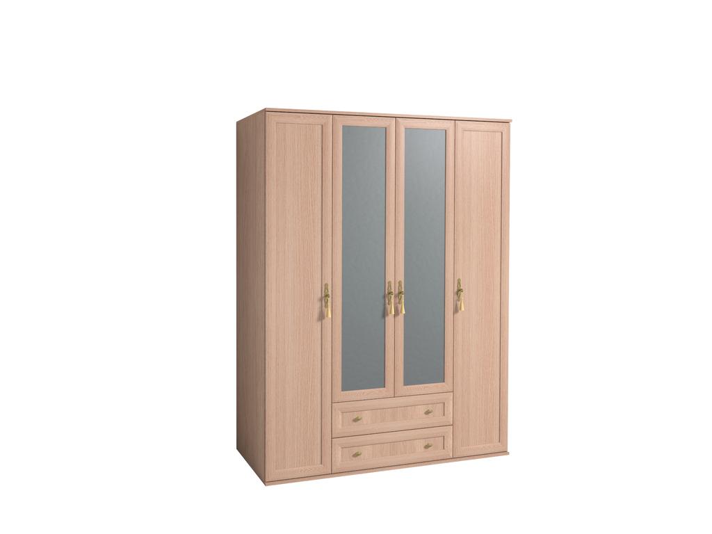 Шкафы для одежды и белья: Шкаф для одежды и белья Милана 1 в Стильная мебель