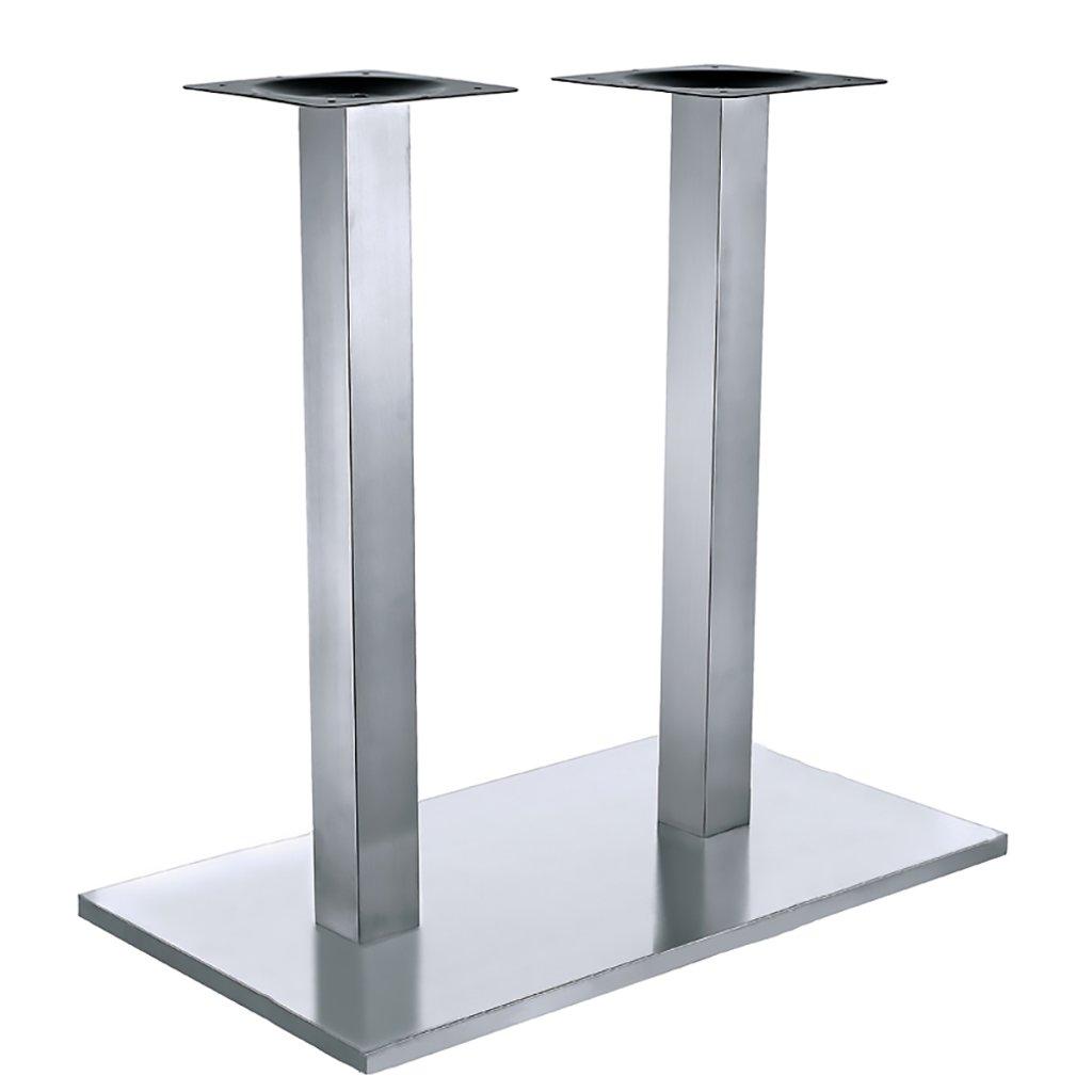 Подстолья для столов.: Подстолье 1027EM (нержавеющая сталь матовое) в АРТ-МЕБЕЛЬ НН