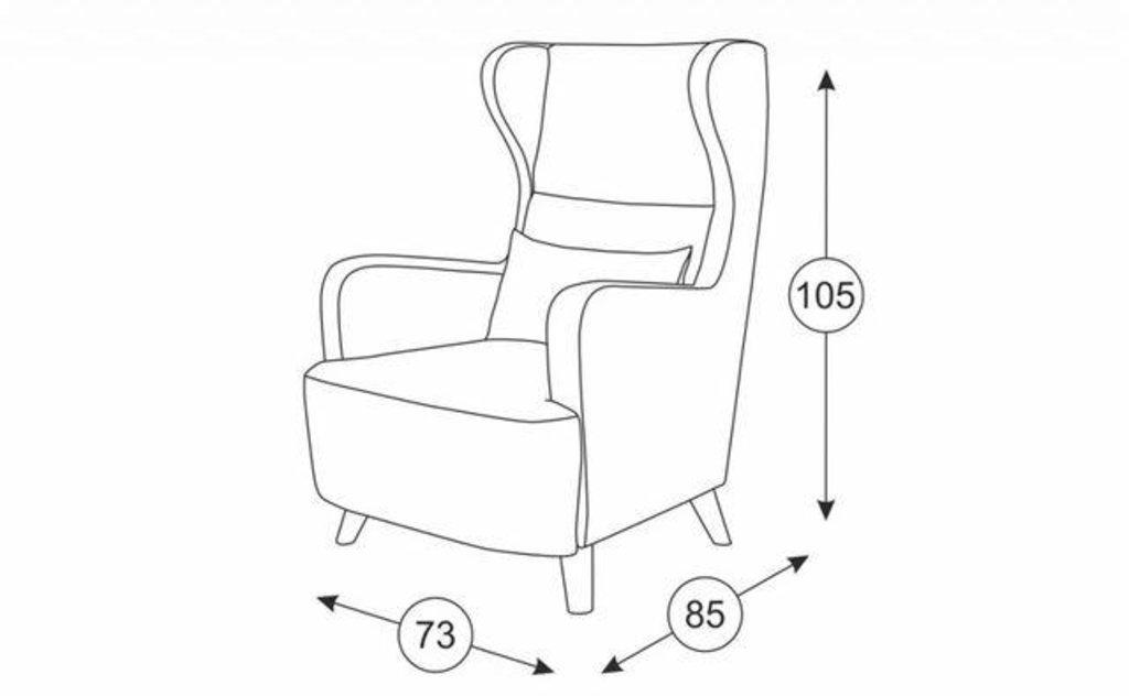 Кресла Меланж: Кресло Меланж ТК 232 в Диван Плюс