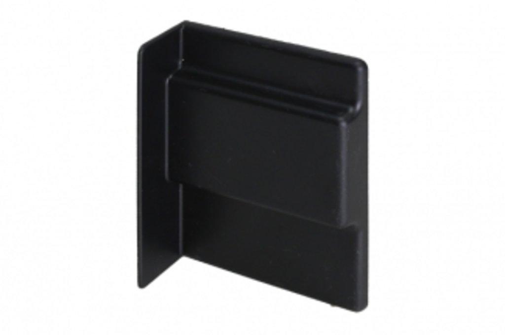 Подвеска каркасов: Крышечка декоративная для подвески арт.807 чёрная, правая в МебельСтрой