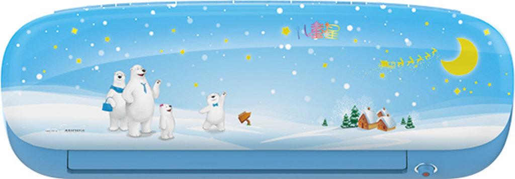 """Midea NEW серия """"Kids Star""""(кондиционер для детских комнат, ионизатор,WI-FI, режим турбо, авторестарт) (sb-голубой,sp-розовый): MSEAAU-09HRFN1(SB)(SP)/MOA01-09HFN1 в Теплолюкс-К, инженерная компания"""