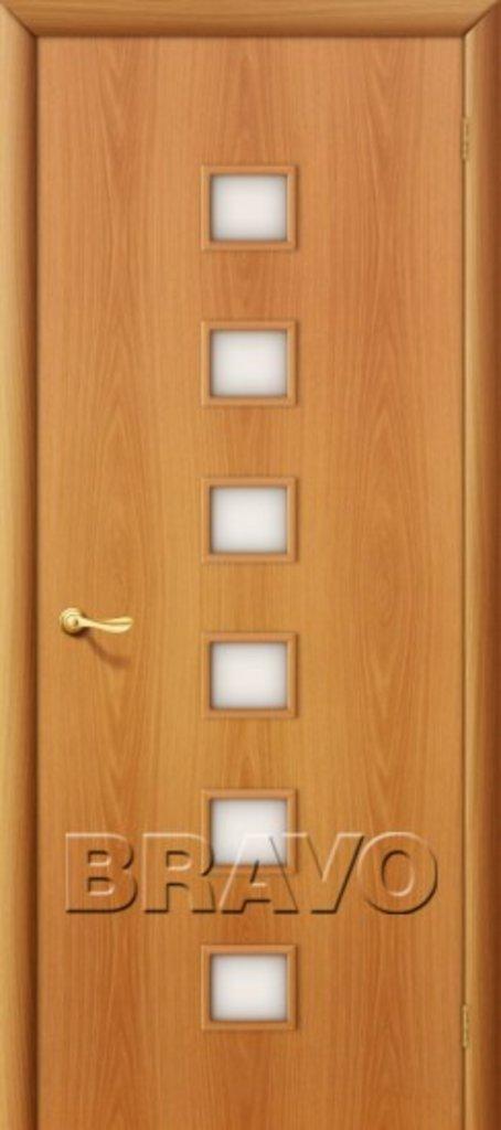 Двери ламинированные BRAVO: 1С Л-12 (МиланОрех) в STEKLOMASTER
