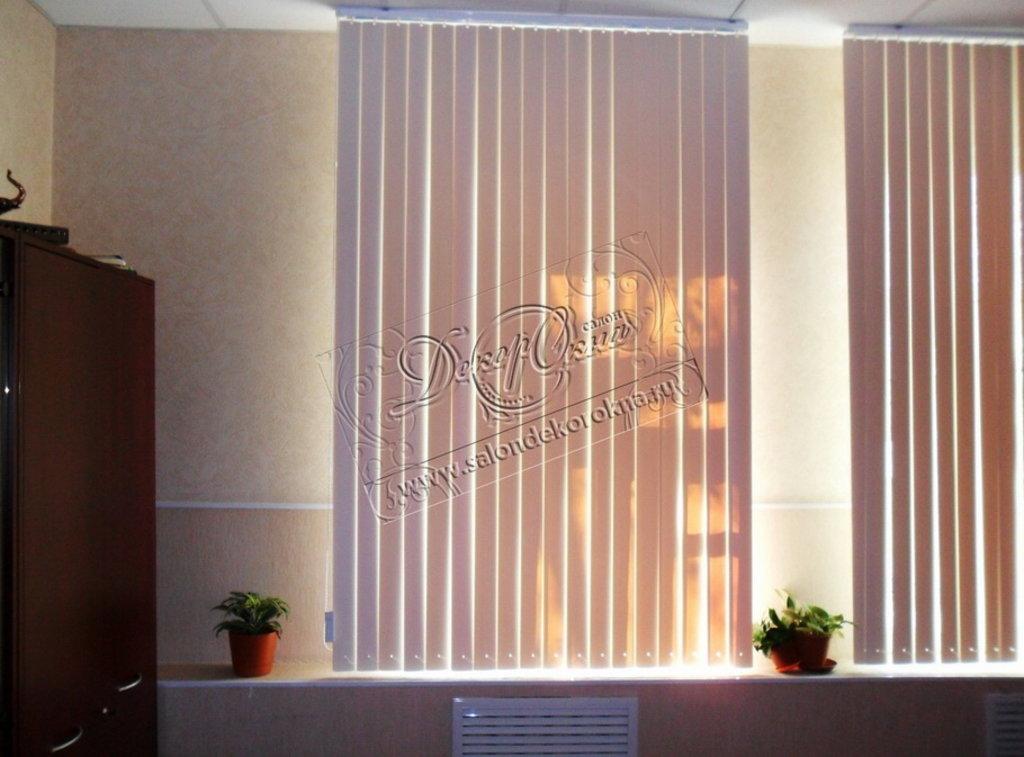 Жалюзи для окон: Жалюзи вертикальные пластиковые в Декор окна, салон