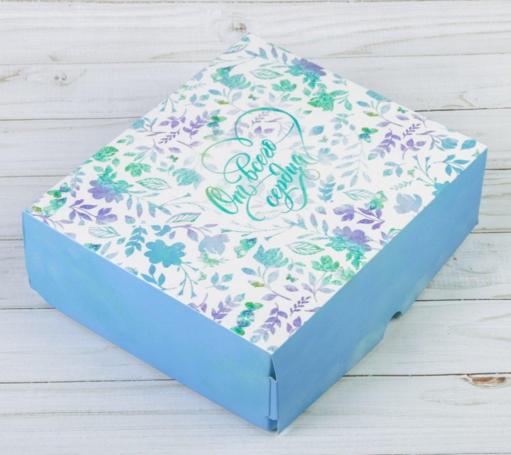 """Упаковка: Коробка подарочная  """"От всего вердца"""" в ТортExpress"""