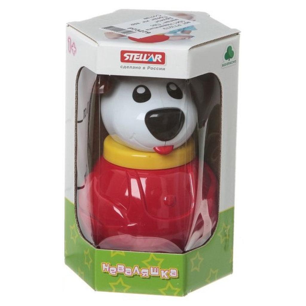 """Игрушки для малышей: Неваляшка """"Пес Дружок"""" малая STELLAR в Игрушки Сити"""