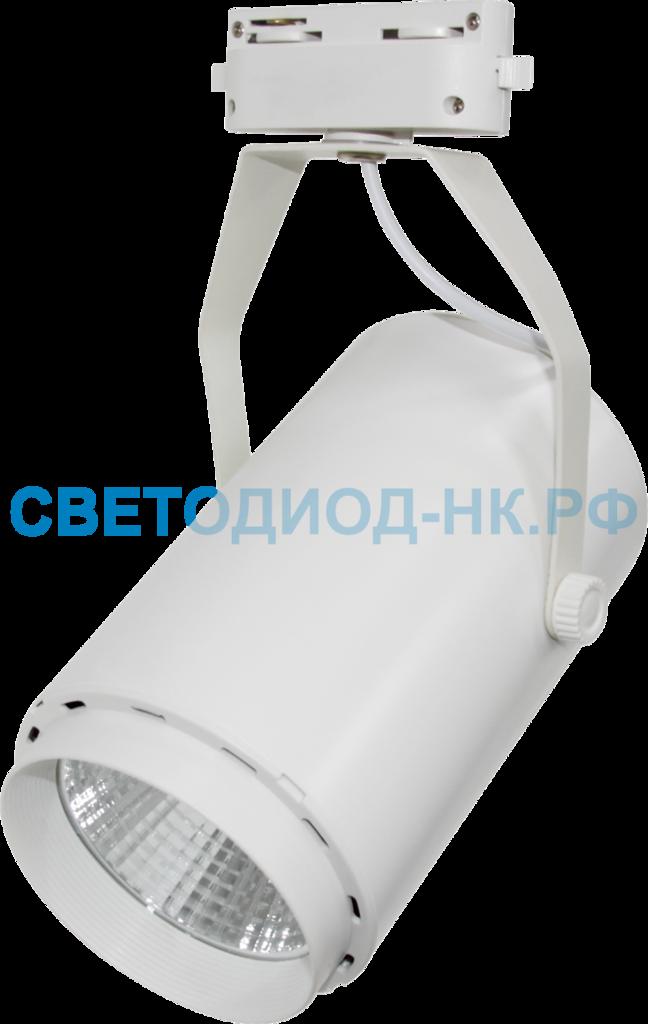 Трековые светильники: TR-02 7Вт 160-260В 4000К 630Лм 72x121x155мм белый IP40 LLT в СВЕТОВОД