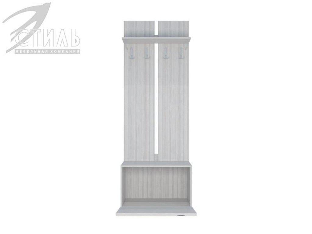 Мебель для прихожей Юнона-1: Вешалка с тумбой Юнона-1 в Диван Плюс