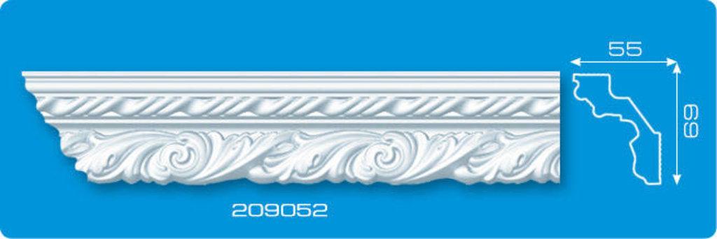 Плинтуса потолочные: Плинтус потолочный ФОРМАТ 209052 инжекционный длина 2м в Мир Потолков
