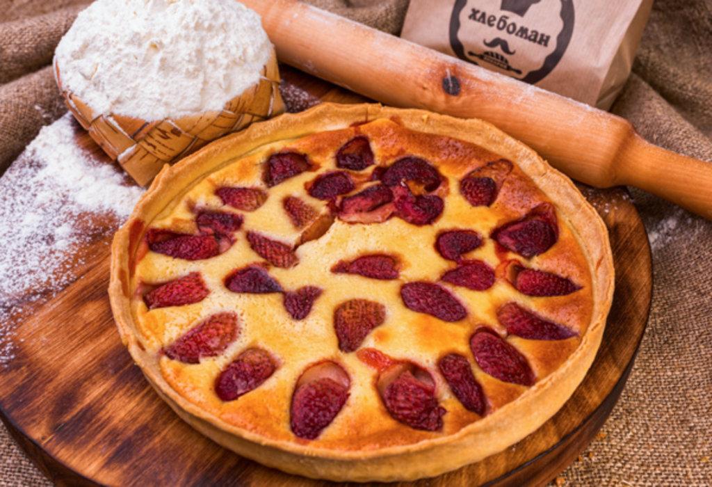 Сладкие пироги: Киш с клубникой в Хлебоман