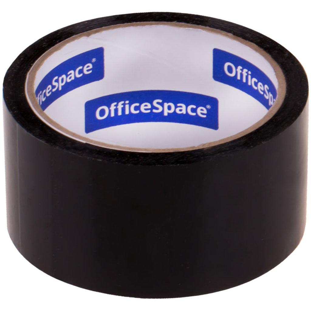 Скотч: Скотч OfficeSpace , 48мм*40м,45мкм, черный ШК КЛ_18878 в Шедевр, художественный салон