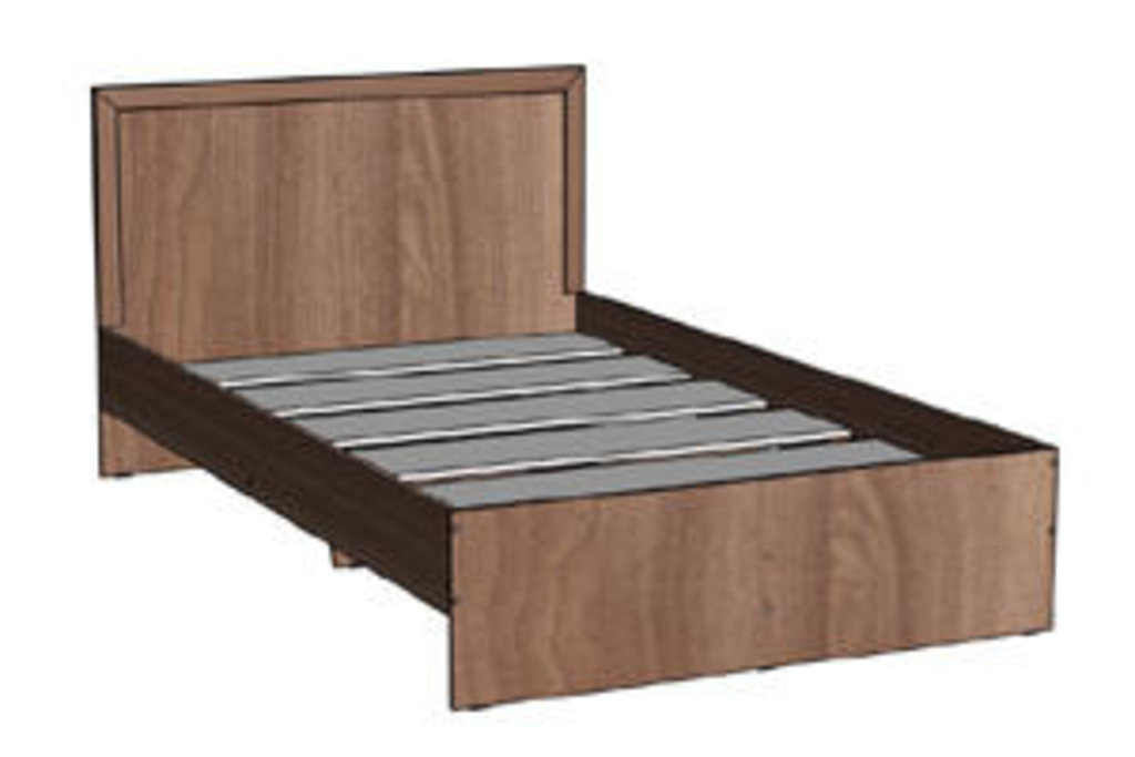 Мебель для спальни Соната. Модульная серия.: Кровать 1200х2000 Соната в Уютный дом