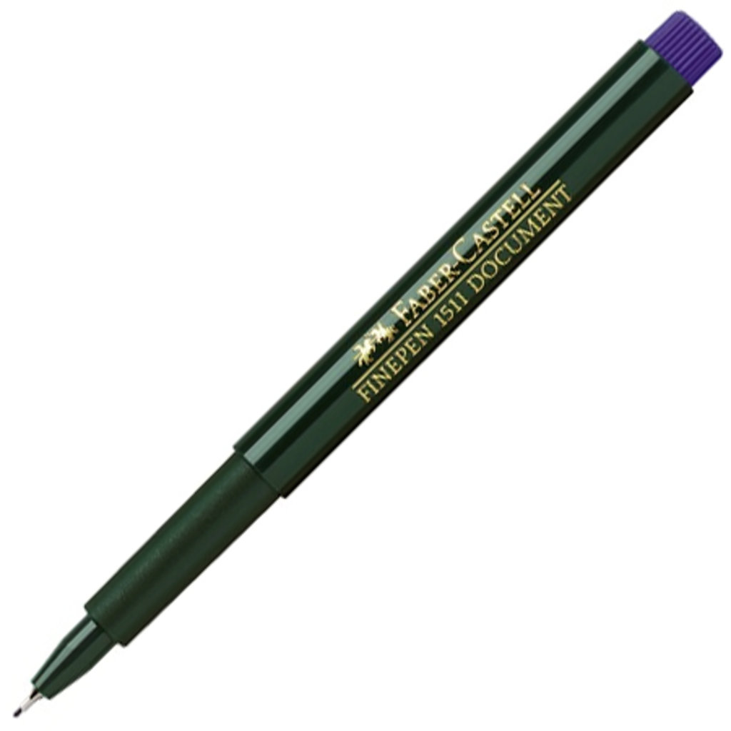 Ручки капиллярные: Ручка капиллярная Faber-Castell Finepen 1511, 0.4мм, синяя в Шедевр, художественный салон