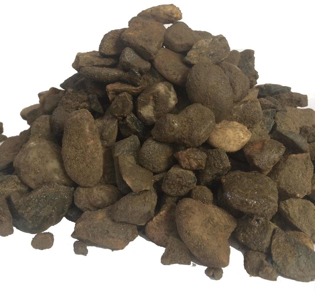 Галька, щебень: Щебень из гравия фр.20-70мм (50кг) в 100 пудов