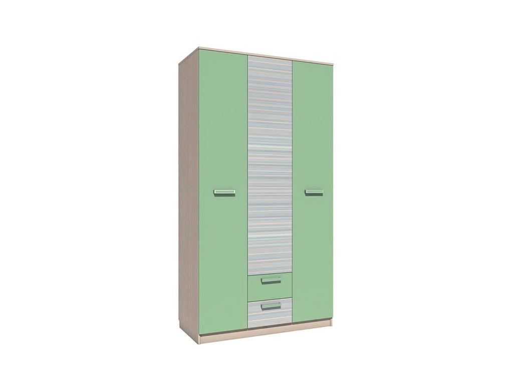 Детские шкафы и стеллажи: Шкаф комбинированный НМ 013.08-01 ММ Рико-М в Стильная мебель