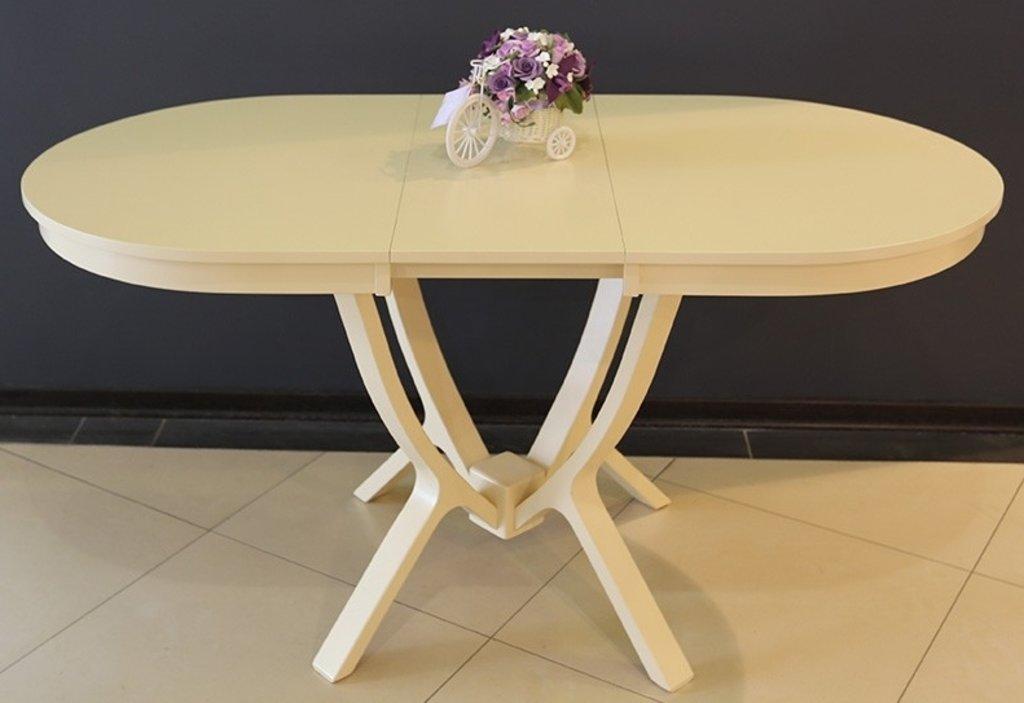 Столы деревянные: Стол Валенсия 1160 раскладной. в АРТ-МЕБЕЛЬ НН