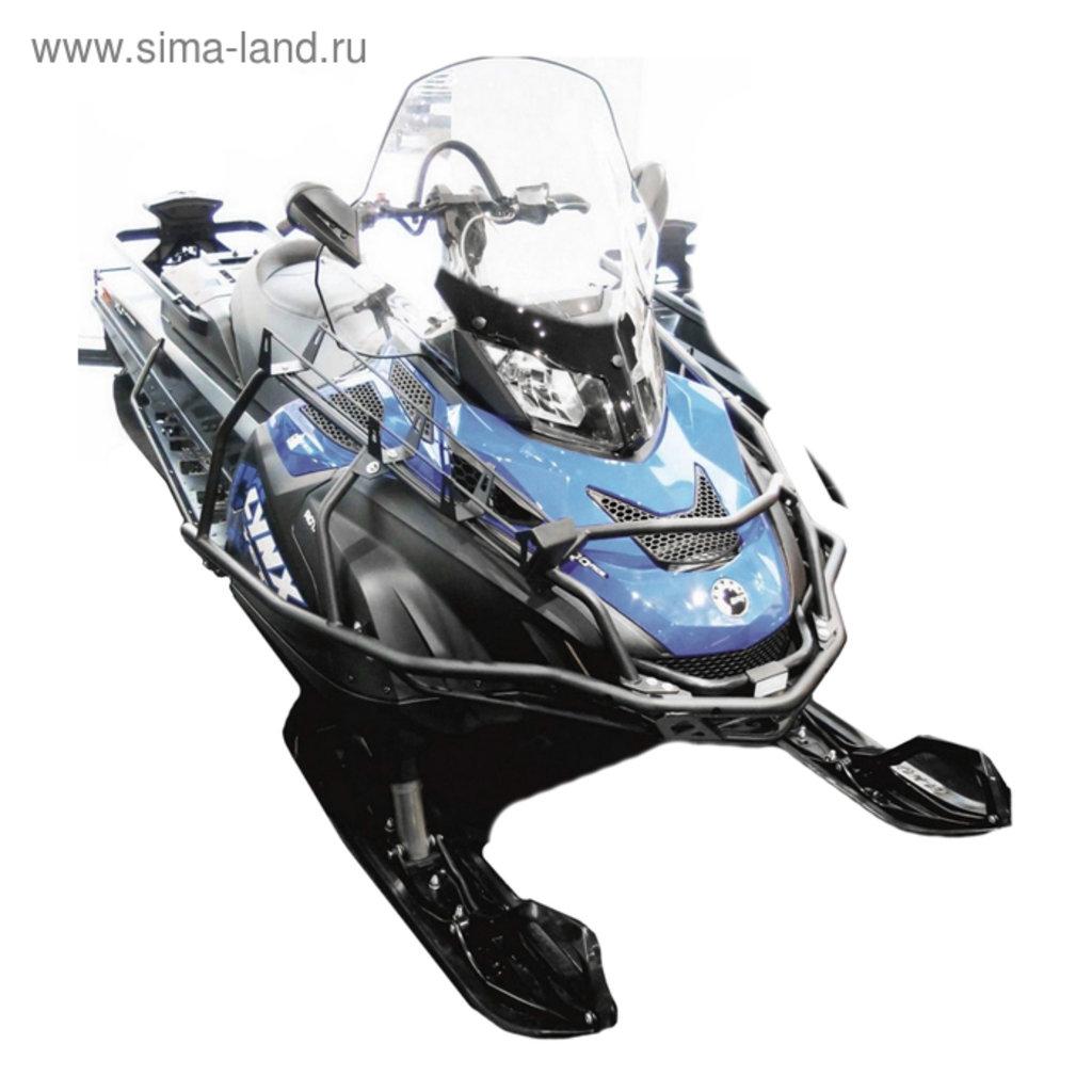 Запчасти для снегохода - BRP, Arctic cat, Yamaha, Polaris.: Бампер с ложементом и пере дугой Ski-Doo Skandic WT/SWT Lynx 59/69+ комп. крепежа 444.7237.1, 444.7237.1 в Базис72