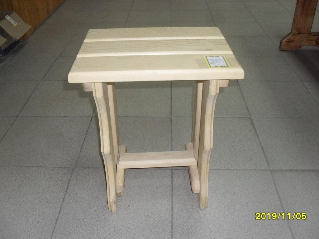 Мебель для саун и бань: Табурет (ХВОЯ) в Погонаж