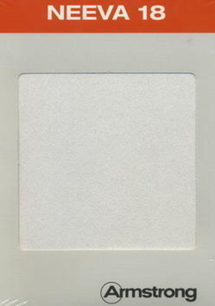 Потолки Армстронг (минеральное волокно): Потолочная плита NEEVA WHITE Microlook 600x600x18 (Нива микролук) Армстронг в Мир Потолков