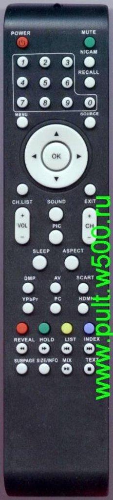 MYSTERY: Пульт MYSTERY MTV-1914LW ( bbk rc-3229 ) (LCD) SG в A-Центр Пульты ДУ