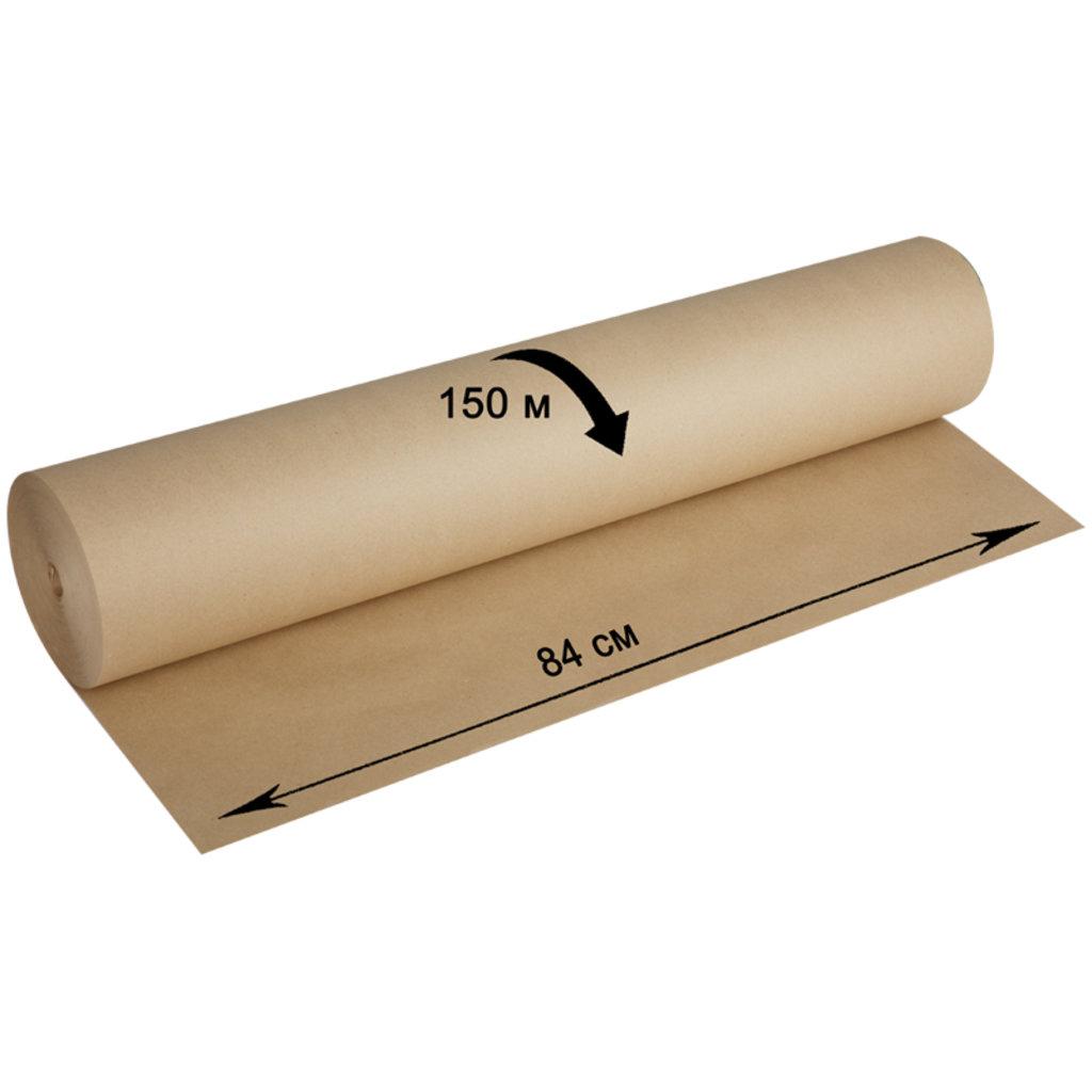 Бумага крафт: Крафт-бумага в рулоне OfficeSpace,840мм*150м,плотность 80г/м2 в Шедевр, художественный салон